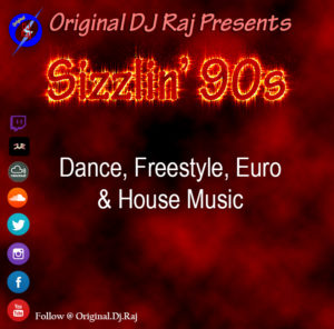 Sizzlin 90s Virtual Dance Party
