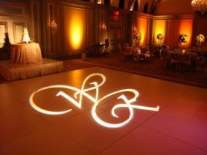 Monogram lights custom