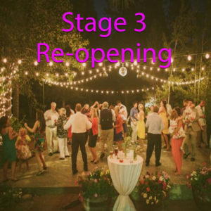 Stage 3 Re-opening Party